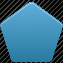 draw, pentagon, shape, shapes, tool, tools icon