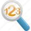 find, glass, magnifying, magnifying glass, research, search, view, zoom icon