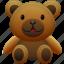 animal, animals, bear, pet, teddy, teddy bear, toy icon