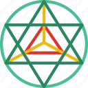astrology, esoteric, geometry, magic, sacred, zodiac icon