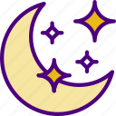 astrology, esoteric, magic, moon, zodiac icon