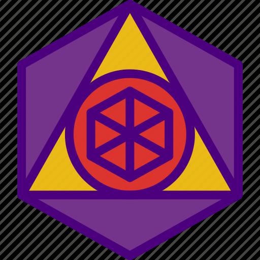 astrology, esoteric, geometry, magic, sacred, zodiac icon