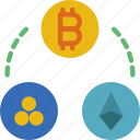 bank, crypto, cryptocurrencies, money, shop icon