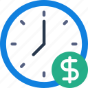 bank, crypto, is, money, shop, time icon