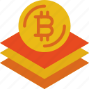 bank, bitcoin, blockchain, crypto, money, shop icon