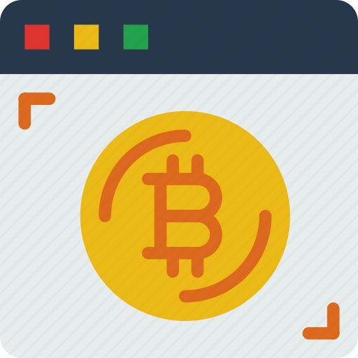 bank, bitcoin, crypto, money, shop, web icon