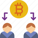 bank, bitcoin, crypto, money, sale, shop icon