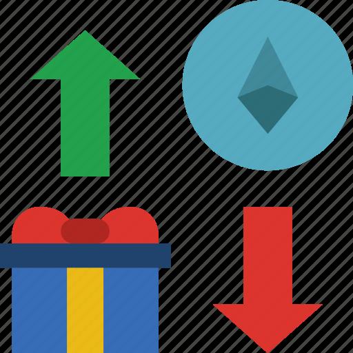 bank, crypto, money, shop, transfer icon