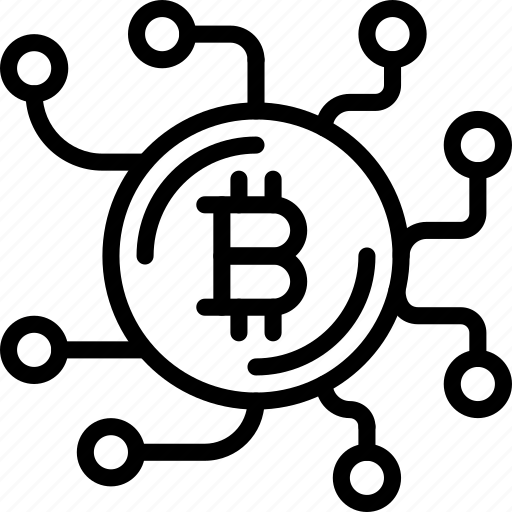 bank, bitcoin, crypto, link, money, shop icon