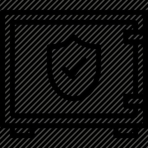 bank, crypto, money, safe, shop icon