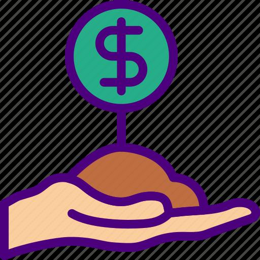 bank, crypto, make, money, shop icon