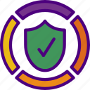 bank, crypto, money, protection, shop icon