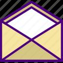bank, crypto, envelope, money, shop icon