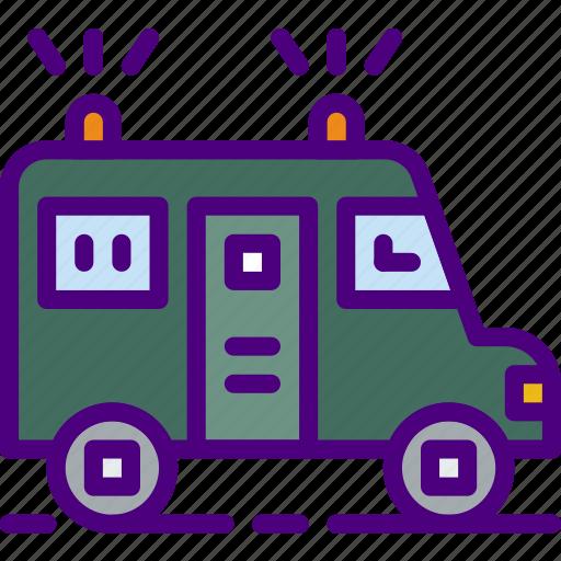armored, bank, crypto, money, shop, truck icon