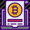 bank, bitcoin, crypto, money, shop, wallet icon