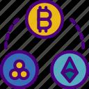 bank, crypto, cryptocurrencies, money, shop icon