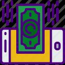 bank, crypto, money, receive, shop icon