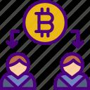 bank, bitcoin, crypto, money, sale, shop icon