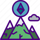 bank, crypto, currency, goal, money, shop icon