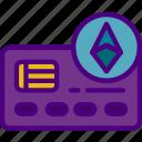 bank, card, credit, crypto, money, shop icon
