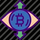 bank, bitcoin, crypto, money, obsession, shop icon