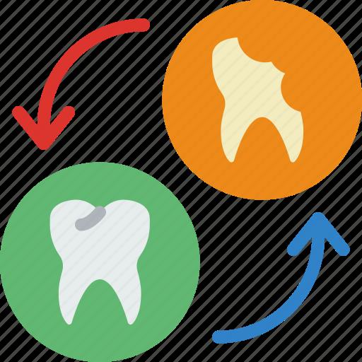 Change, dentist, doctor, hospital, teeth icon - Download on Iconfinder