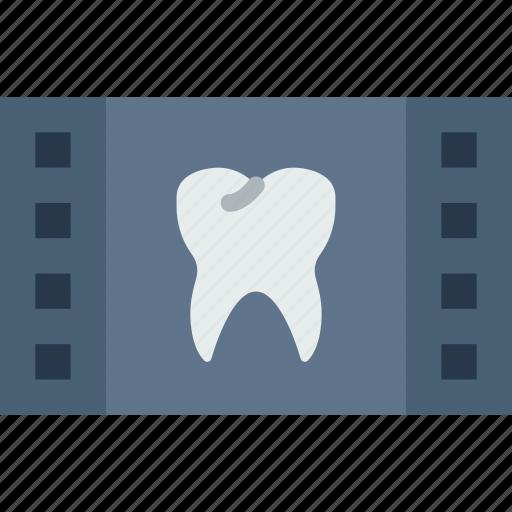 Dental, dentist, doctor, film, hospital, teeth icon - Download on Iconfinder