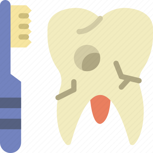 brush, dentist, doctor, hospital, teeth, tooth icon