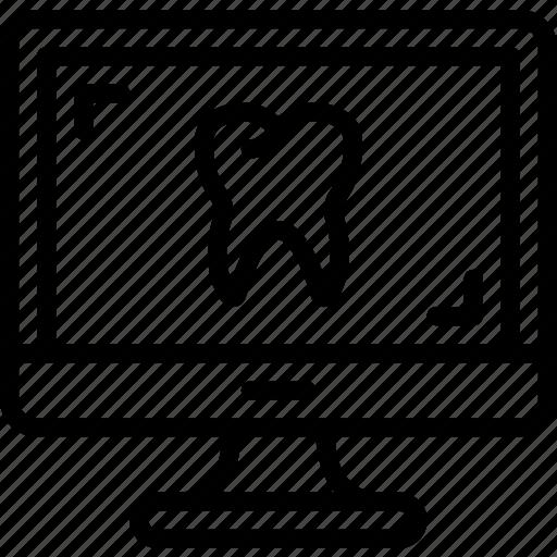 Dental, dentist, doctor, hospital, teeth, xray icon - Download on Iconfinder