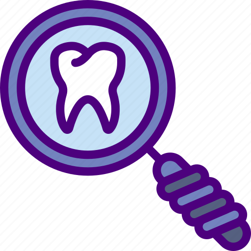 Dentist, doctor, hospital, search, teeth, tooth icon - Download on Iconfinder