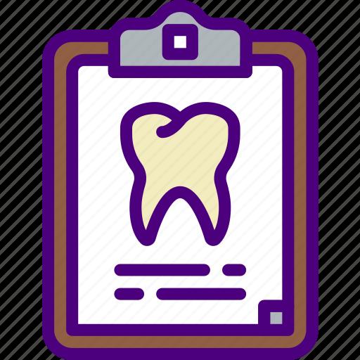 dental, dentist, doctor, file, hospital, teeth icon