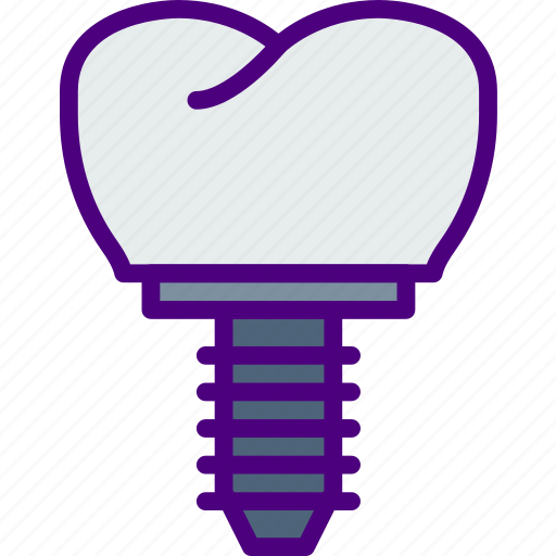 Crown, dentist, doctor, hospital, implant, teeth icon - Download on Iconfinder