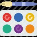 design, draw, illustration, painting, tools icon