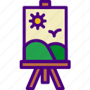 canvas, create, design, draw, illustration, painting icon