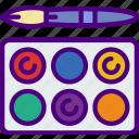 color, create, design, draw, illustration, pallette icon
