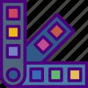 color, create, design, draw, illustration, pallettes icon