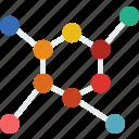 chemistry, diagram, education, learn, school, teacher icon
