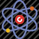 atom, education, learn, school, teacher icon