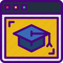 course, education, learn, online, school, teacher icon