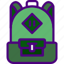 backpack, education, learn, school, teacher icon