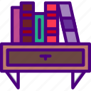 bookshelf, education, learn, school, teacher icon