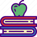 books, education, learn, school, teacher icon