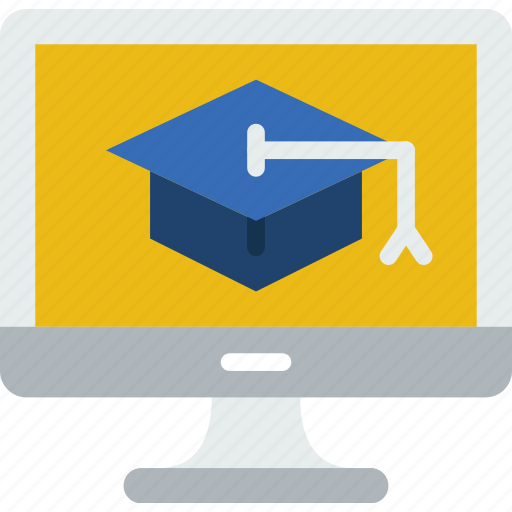 college, course, education, learn, online, school icon