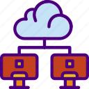 cloud, college, education, learn, learning, school icon