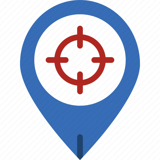 app, essential, interaction, location, mail, target icon