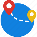 app, essential, interaction, mail, travel icon