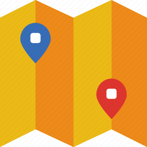 app, essential, interaction, location, mail, map icon