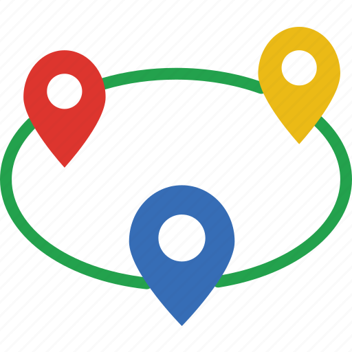 app, essential, interaction, locations, mail icon