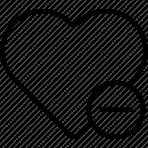 app, essential, favorite, file, interaction, remove icon