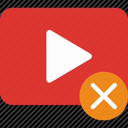 app, delete, essential, file, interaction, video icon